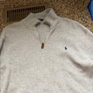 Polo Ralph Lauren half zip sweater!